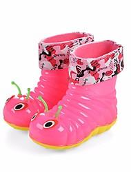 baratos -Para Meninos / Para Meninas Sapatos Pele PVC Primavera Verão Botas de Chuva Botas para Azul / Rosa claro