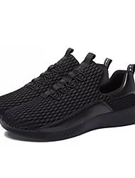 お買い得  -男性用 靴 ラバー 春 夏 コンフォートシューズ アスレチック・シューズ のために アウトドア ブラック ブラックとホワイト