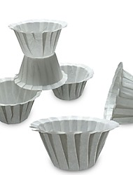 baratos -10pçs Papel Filtro de Café Filtro de Chá Alta qualidade ,  6.5*3.3cm