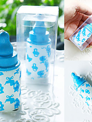 baratos -Chá de Bebê Favores da vela - 1pcs Velas Suportes de Velas Cera Caixa PVC