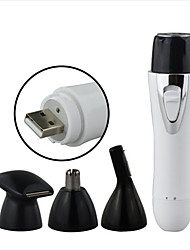 baratos -Factory OEM Depilador para Homens e Mulheres <5 V Estilo Mini / Destacável / 3 em 1 / Leve e conveniente / Leve / Uso sem fio