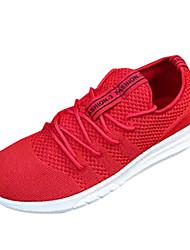 お買い得  -男性用 靴 ラバー 春 夏 コンフォートシューズ アスレチック・シューズ のために アウトドア ブラック グレー レッド