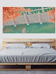 Недорогие -Декоративные наклейки на стены - Простые наклейки 3D Цветочные мотивы / ботанический Гостиная Спальня Ванная комната Кухня Столовая