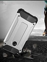 Недорогие -Кейс для Назначение Huawei P10 Lite P10 Защита от удара Кейс на заднюю панель броня Твердый Металл для P10 Plus P10 Lite P10 P8 Lite