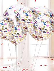 Недорогие -Сфера Прозрачный / День рождения День рождения Декорации для вечеринок 10 шт.