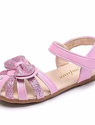billige -Pige Sko PU Sommer Komfort Sandaler for Afslappet Blå Lys pink