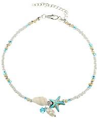 cheap -Women's Strand Bracelet - Starfish Ethnic Bracelet Light Blue For Gift Daily