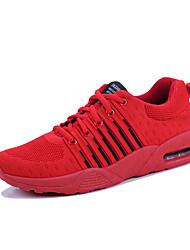Недорогие -Муж. Сетка Весна / Лето Удобная обувь Спортивная обувь Для прогулок Черный / Серый / Красный