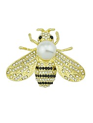 cheap -Women's Brooches - Bee Basic, Fashion Brooch Gold For Daily / Date