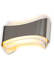 cheap -Modern Led Wall Lights For Bedroom Study Room Metal 5W Home Decoration Wall Lamp