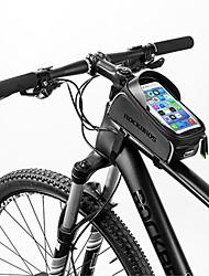 Недорогие -Сотовый телефон сумка 6 дюймовый Сенсорный экран Отражение Водонепроницаемость Велоспорт для iPhone 8/7/6S/6 iPhone X Samsung Galaxy S8+ / Note 8 Черный Велосипедный спорт / Велоспорт / iPhone XR