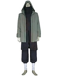 cheap -Inspired by Naruto Shino Anime Cosplay Costumes Cosplay Suits Other Long Sleeves Coat Top Pants For Men's Women's