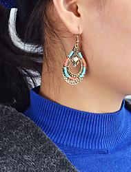 cheap -Women's Drop Drop Earrings - Casual / Fashion Brown Earrings For Daily / Date