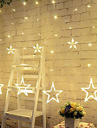 cheap -2m String Lights 138 LEDs Warm White / Cold White / Multi Color Waterproof / Decorative 220-240 V 1pc
