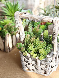cheap -Artificial Flowers 1 Branch Ordinary / Pastoral Style Succulent plants Tabletop Flower
