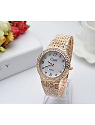 cheap -Women's Quartz Bracelet Watch Hot Sale Stainless Steel Band Charm Silver Gold Rose Gold