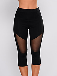 economico -Per donna Essenziale Skinny Pantaloni della tuta Pantaloni - Tinta unita