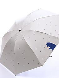 お買い得  -1pcs pc ファブリック フリーサイズ サニーと雨 防風 新しい 折りたたみ傘