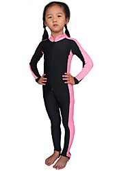 cheap -SBART Girls' / Boys' Dive Skin Suit UV Sun Protection, SPF50, Quick Dry Chinlon Full Body Beach Wear Diving Suit Diving / Swimming