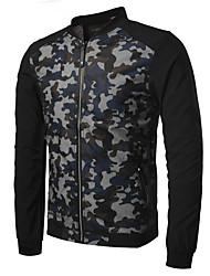 Недорогие -Муж. Куртка Активный - камуфляж