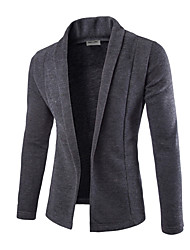 cheap -Men's Active Basic Cardigan - Solid Colored