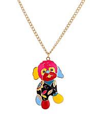Недорогие -Муж. Cool Собаки Ожерелья с подвесками  -  Готика Рок Цвет радуги 65cm Ожерелье Назначение Выпускной Бар
