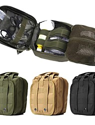 Недорогие -10 L Поясная сумка - Пригодно для носки На открытом воздухе Пешеходный туризм, Походы, Экстренная ситуация Нейлон Черный, Зеленый, Хаки