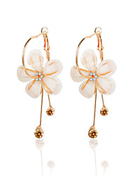 cheap -Women's Opal Drop Earrings - Gemstone, Zircon Floral / Botanicals, Flower Gold For Prom / Going out