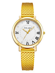 cheap -Women's Quartz Fashion Watch Casual Watch Plastic Band Heart shape Colorful Black Blue Red Green Gold Pink Yellow Rose