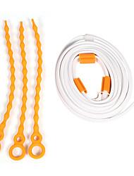 cheap -1.5m Flexible LED Light Strips 45 LEDs Warm White / Cold White USB / Waterproof 5 V 1pc