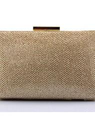 Недорогие -Жен. Мешки ПВХ Вечерняя сумочка Пайетки Цвет шампанского / Черный