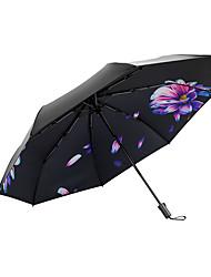 Недорогие -boy® Ткань Жен. / Все Солнечный и дождливой / Ветроустойчивый / новый Складные зонты