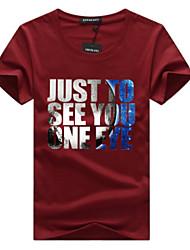 economico -T-shirt Per uomo Attivo Essenziale Alfabetico