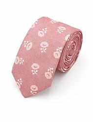 economico -Per uomo Vintage Da serata Cravatta Fantasia floreale Jacquard