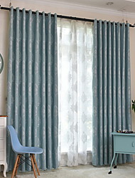 povoljno -Zavjese Zavjese Living Room Geometrijski oblici Pamuk / poliester S printom