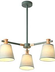 abordables -JLYLITE 3 lumières Lustre Lumière dirigée vers le bas - Style mini, 110-120V / 220-240V Ampoule non incluse / 15-20㎡ / FCC / VDE