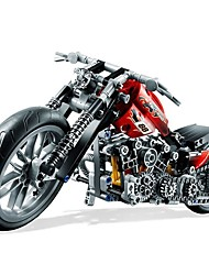 cheap -Harley Moto Building Blocks 374pcs Exquisite Classic & Timeless Toy Motorcycle Toy Gift