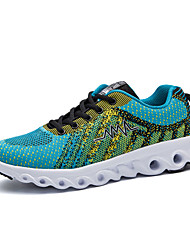 cheap -Men's Tulle Spring / Fall Comfort Athletic Shoes Walking Shoes Red / Light Blue / Black / Green