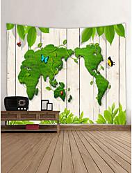 Недорогие -Сад Бабочки Декор стены 100% полиэстер Современный Классика Предметы искусства, Стена Гобелены Украшение