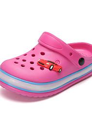baratos -Para Meninas sapatos EVA Verão Outono Tênis com LED Conforto Chinelos e flip-flops LED Vazados para Casual Ao ar livre Preto Cinzento