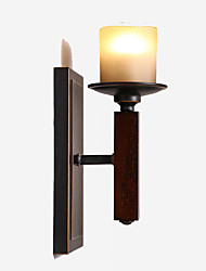 cheap -Rustic / Lodge Wall Lamps & Sconces Wood / Bamboo Wall Light 110-120V / 220-240V 40W