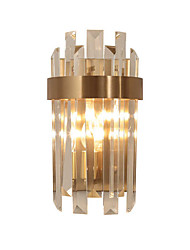 cheap -QIHengZhaoMing Crystal / Eye Protection LED / Modern / Contemporary Wall Lamps & Sconces Living Room / Study Room / Office Metal Wall