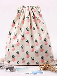 Недорогие -Жен. Мешки холст рюкзак С отверстиями Розовый