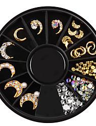 cheap -1 pcs Nail Jewelry Metallic / Rhinestone Special Designed Casual / Daily Jewelry / Nail Art Design