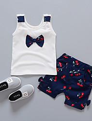 povoljno -Dijete koje je tek prohodalo Djevojčice Print Bez rukávů Komplet odjeće
