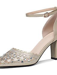 preiswerte -Damen Schuhe Glitzer Sommer / Herbst Gladiator / Pumps High Heels Blockabsatz Gold / Schwarz / Party & Festivität