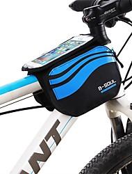preiswerte -Fahrradrahmentasche 5.7inch Zoll Radfahren Wasserdichter Reißverschluß tragbar Atmungsaktiv Radsport für Samsung Galaxy S8+ / Note 8