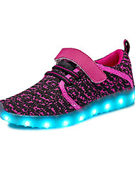 cheap -Girls' Boys' Shoes Breathable Mesh Customized Materials Summer Light Up Shoes Comfort Athletic Shoes Running Shoes LED Hook & Loop Gore