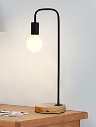 baratos -Artistíco Decorativa Luminária de Mesa Para Madeira / Bambu 220-240V Preto Cinzento