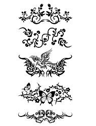 economico -1 pcs Tatuaggi adesivi Tatuaggi temporanei Serie animali Impermeabile arti del corpo Corpo / braccio / spalla